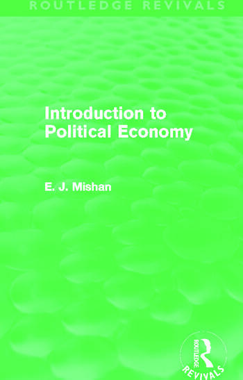 Introduction to Political Economy (Routledge Revivals) book cover