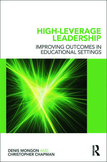 High-Leverage Leadership Improving Outcomes in Educational Settings book cover