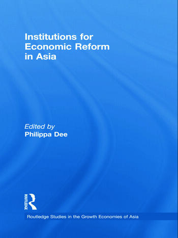 Institutions for Economic Reform in Asia book cover
