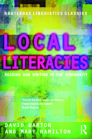 Local Literacies Reading and Writing in One Community book cover