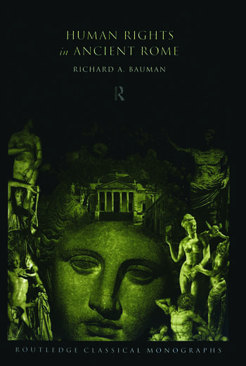 Human Rights in Ancient Rome book cover