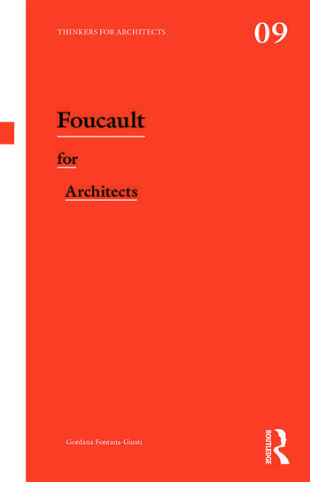 Foucault for Architects book cover