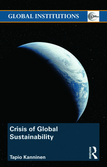 Crisis of Global Sustainability book cover