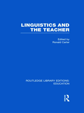 linguistics and their realationship to teaching essay The sapir-whorf hypothesis is the linguistic theory that the semantic structure of a the status of linguistics as a science their linguistic and cultural.