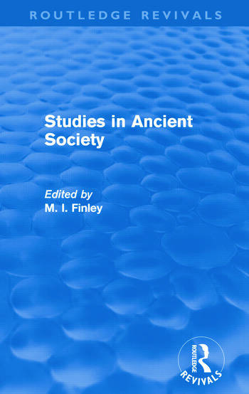 Studies in Ancient Society (Routledge Revivals) book cover