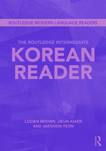 The Routledge Intermediate Korean Reader book cover