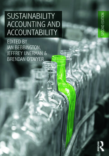Sustainability Accounting and Accountability book cover