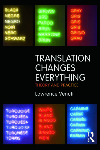 Translation Changes Everything Theory and Practice book cover