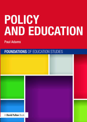 Policy and Education book cover