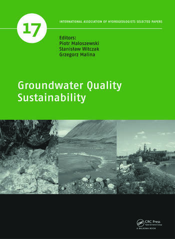 Groundwater Quality Sustainability book cover
