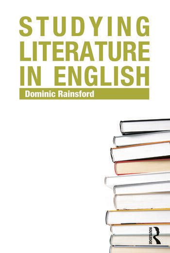 Studying Literature in English An Introduction book cover