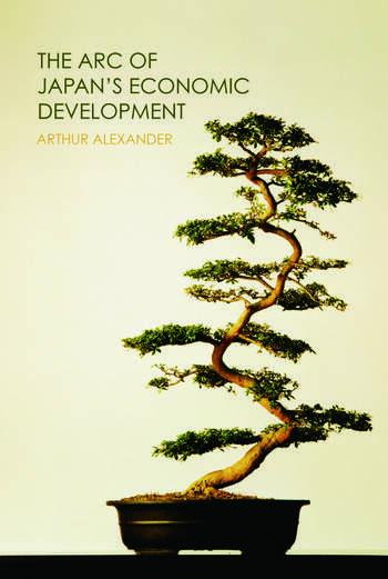The Arc of Japan's Economic Development book cover