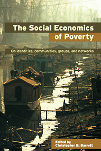 The Social Economics of Poverty book cover