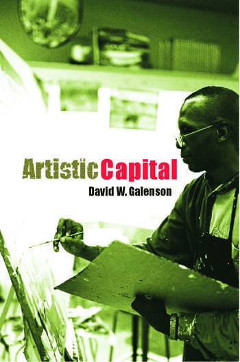Artistic Capital book cover