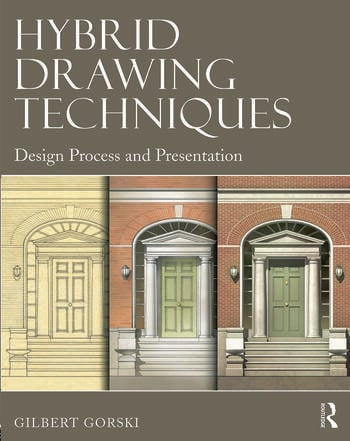 Hybrid Drawing Techniques Design Process and Presentation book cover