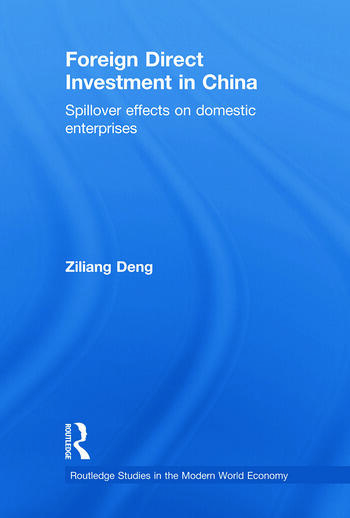 Foreign Direct Investment in China Spillover Effects on Domestic Enterprises book cover