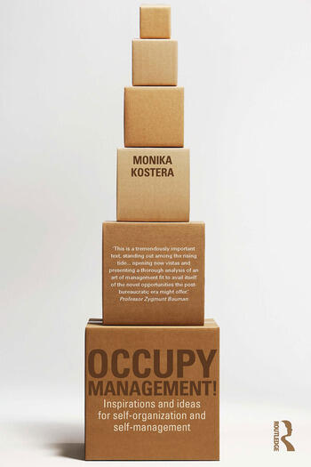 Occupy Management Inspirations and Ideas for Self-Organization and Self-Management book cover