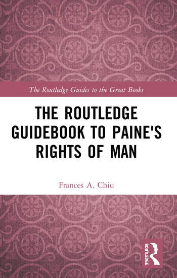 The Routledge Guidebook to Paine's Rights of Man book cover