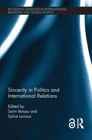 Sincerity in Politics and International Relations (Open Access) book cover