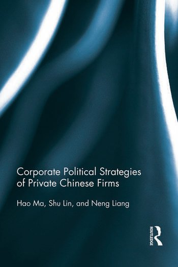 Corporate Political Strategies of Private Chinese Firms book cover