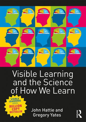 Visible Learning and the Science of How We Learn book cover