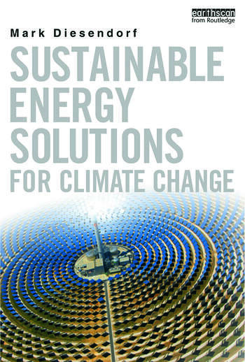 Sustainable Energy Solutions for Climate Change book cover
