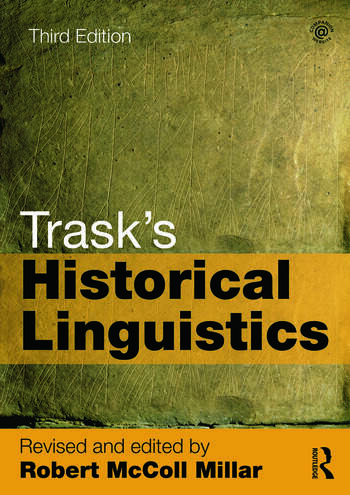 Trask's Historical Linguistics book cover