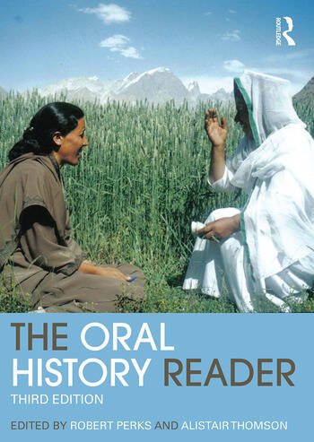 The Oral History Reader book cover