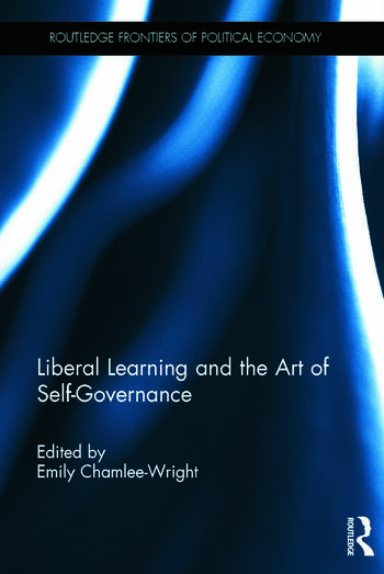Liberal Learning and the Art of Self-Governance book cover
