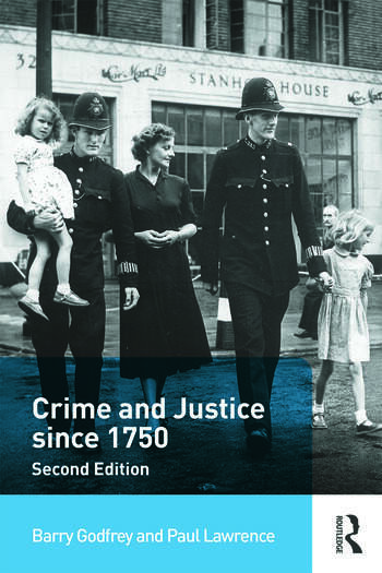 Crime and Justice since 1750 book cover