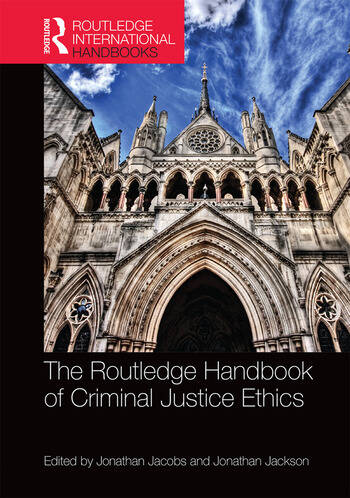The Routledge Handbook of Criminal Justice Ethics book cover