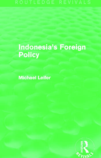 Indonesia's Foreign Policy (Routledge Revivals) book cover