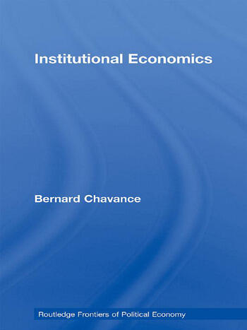 Institutional Economics book cover