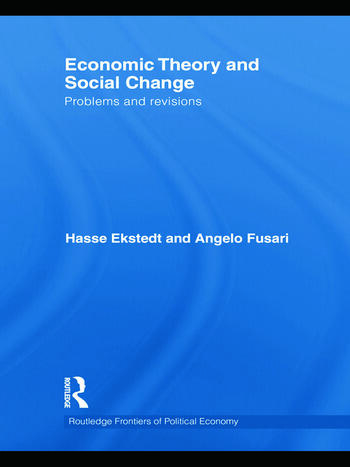 Economic Theory and Social Change Problems and Revisions book cover