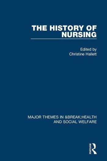 The History of Nursing book cover