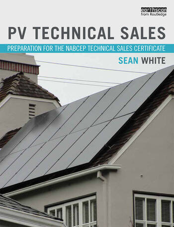 PV Technical Sales Preparation for the NABCEP Technical Sales Certification book cover