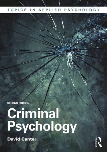 Criminal Psychology book cover