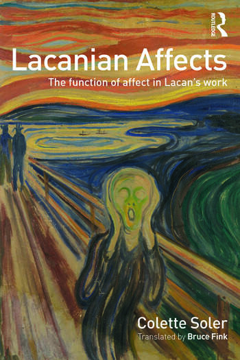 Lacanian Affects The function of affect in Lacan's work book cover