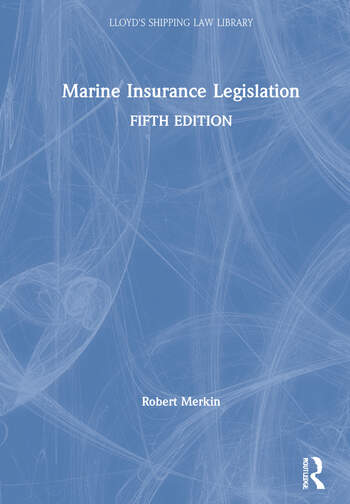 Marine Insurance Legislation book cover