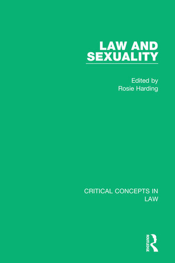 Law and Sexuality book cover