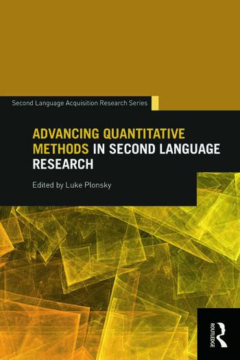 Advancing Quantitative Methods in Second Language Research book cover