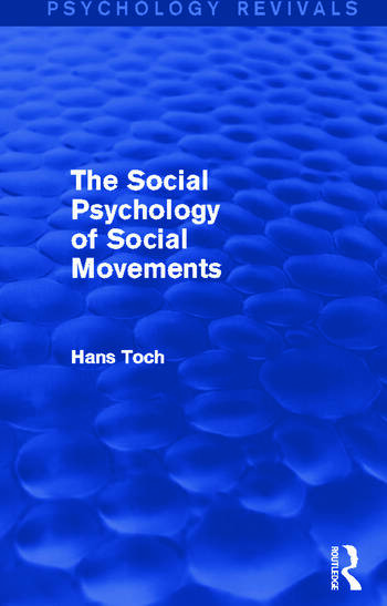 The Social Psychology of Social Movements book cover