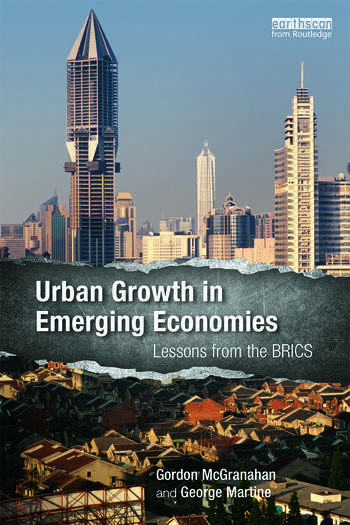 Urban Growth in Emerging Economies Lessons from the BRICS book cover