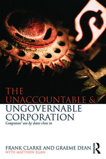 The Unaccountable & Ungovernable Corporation Companies' use-by-dates close in book cover