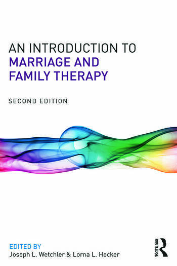 An Introduction to Marriage and Family Therapy book cover