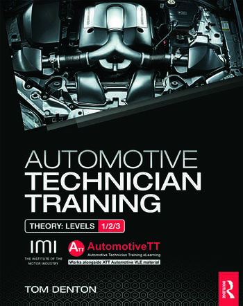 Automotive Technician Training: Theory book cover