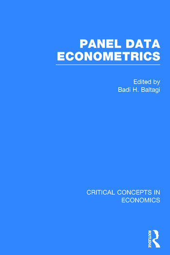 Panel Data Econometrics book cover