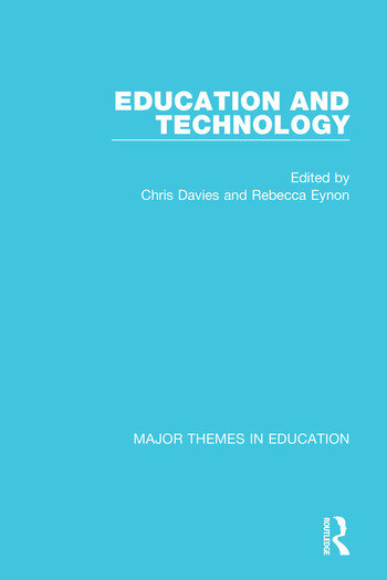 Education and Technology book cover