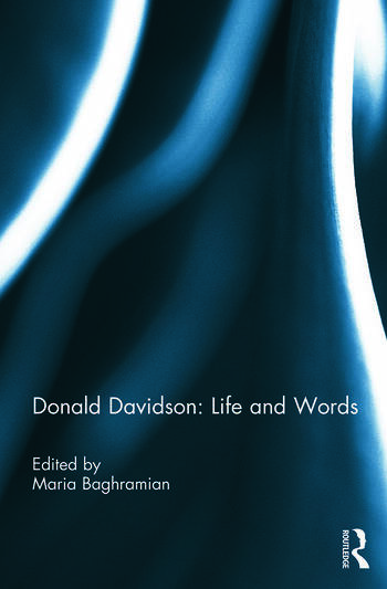 Donald Davidson: Life and Words book cover