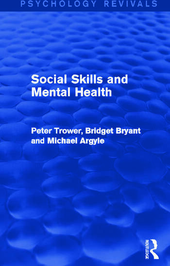 Social Skills and Mental Health book cover